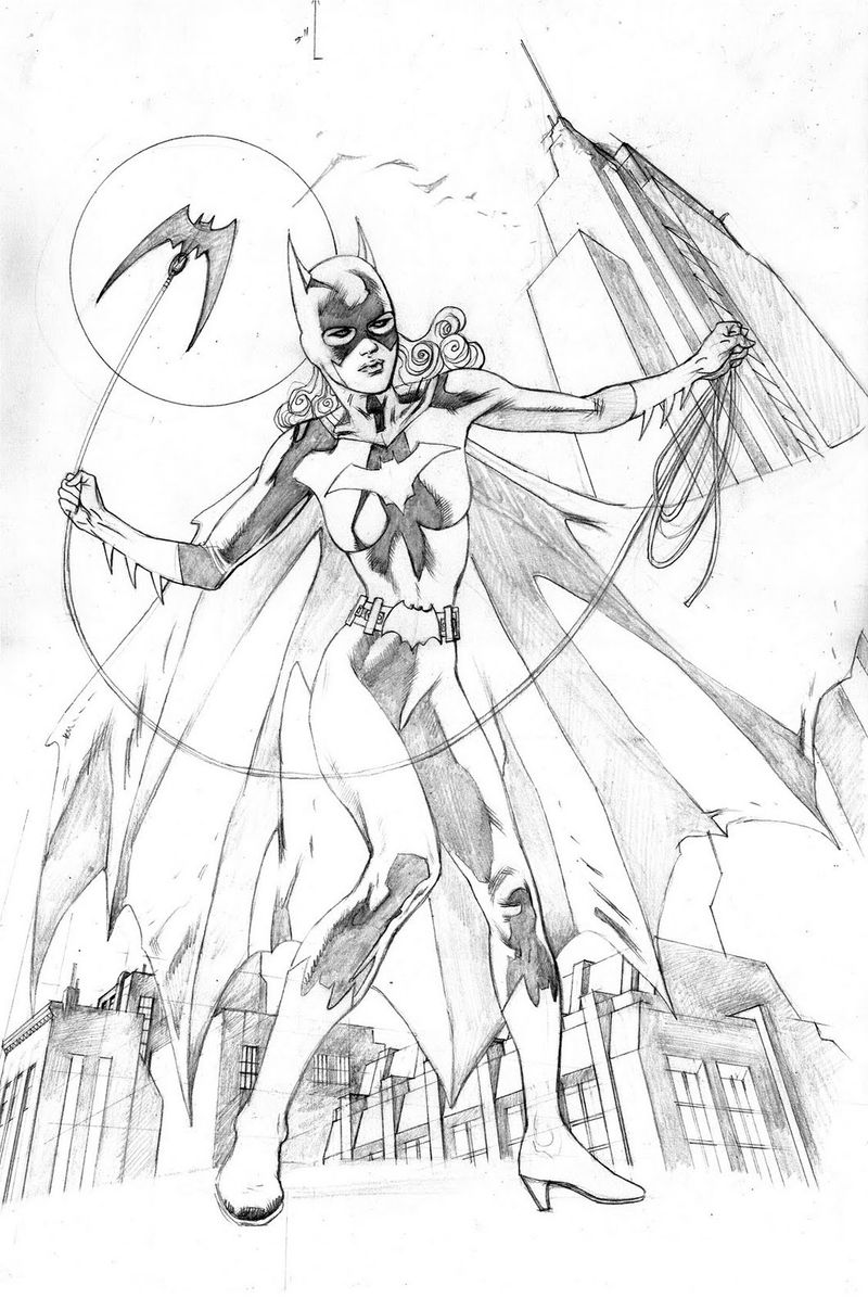 Batgirl Coloring Pages Images