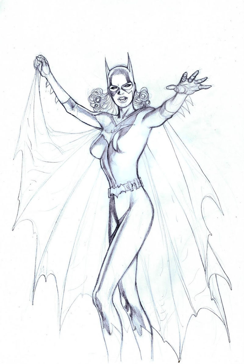Batgirl Coloring Pages To Print