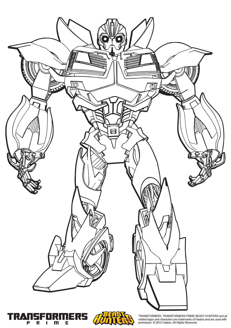 Beasthunter Transformers Coloring Pages