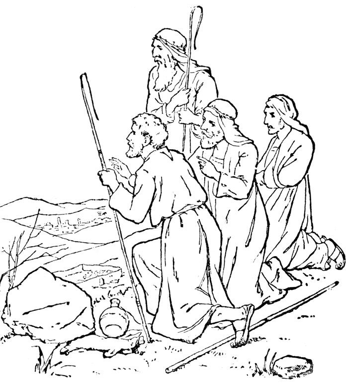 Bible Coloring Pages Jesus