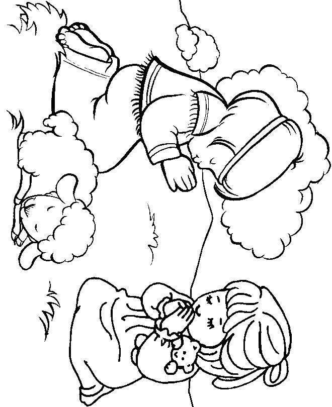 Bible Coloring Pages 1