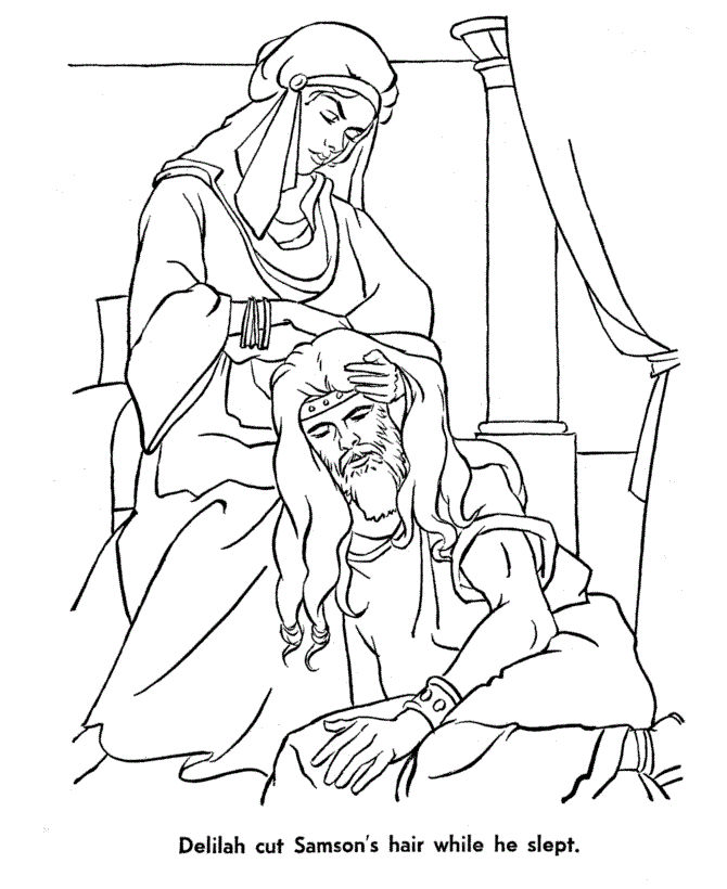 Bible Stories Coloring Pages