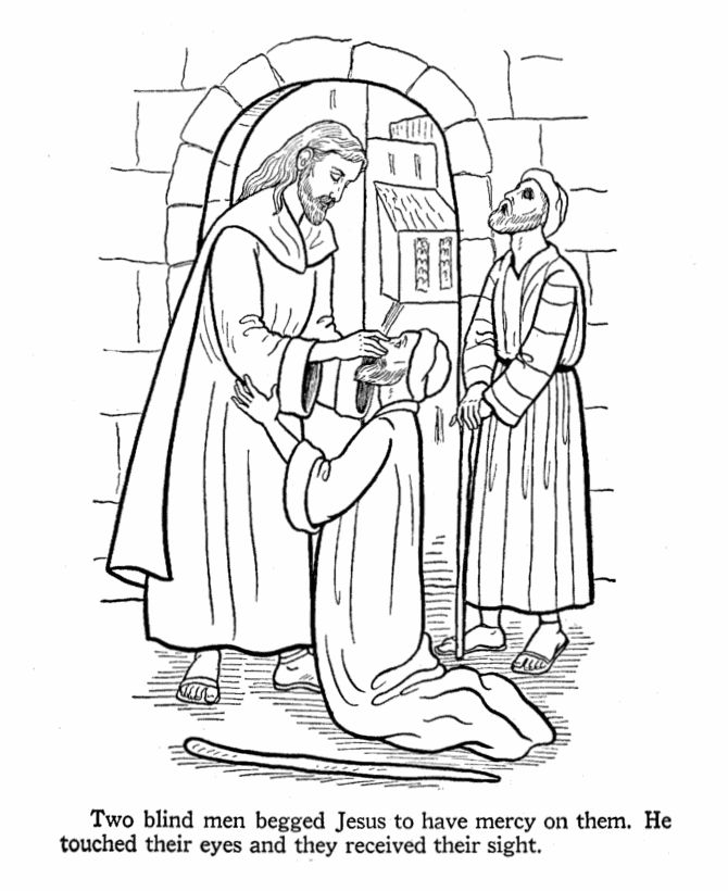 Bible Story Coloring Pages For Kids