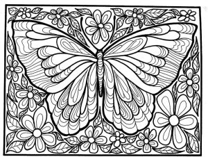 Big coloring pages adults