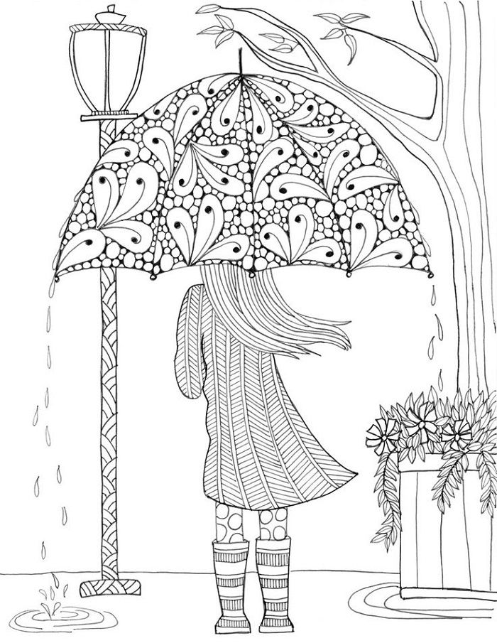 Big Coloring Pages Girls