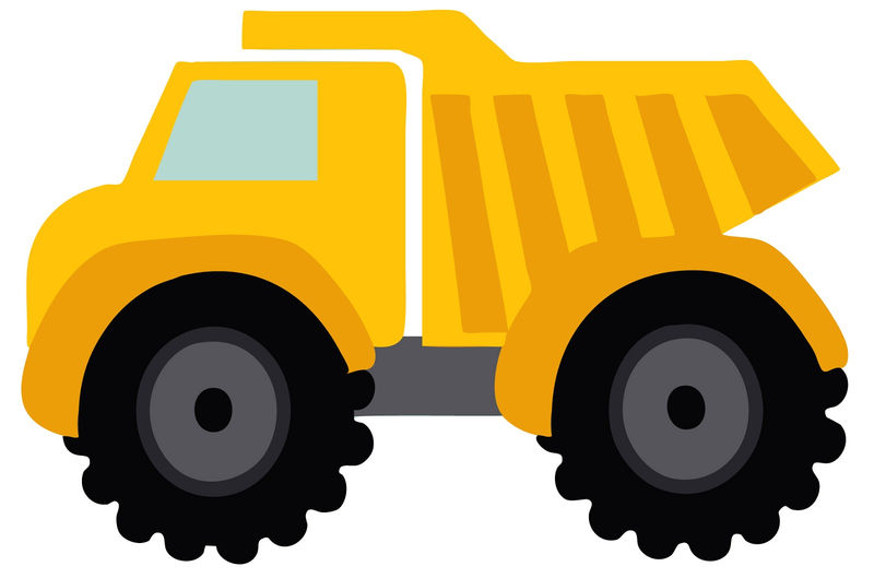 Big Truck Pictures For Kids Simple