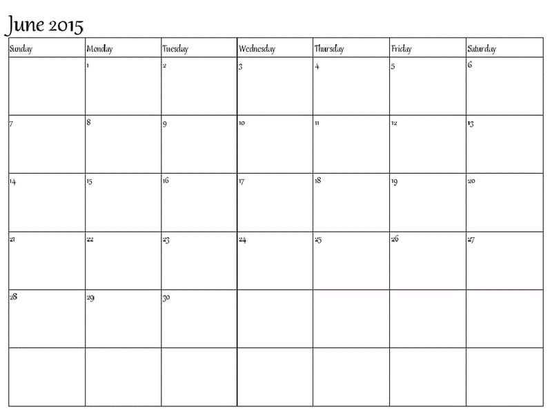 Blank Calendar Pages 2015 June3 001