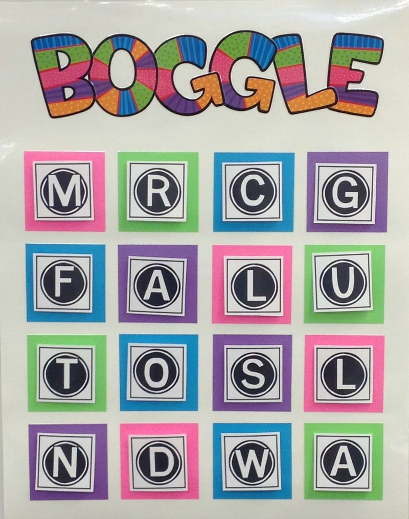 Boggle Word Game For Kids