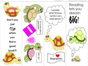 Bookmarks about reading for kids 001