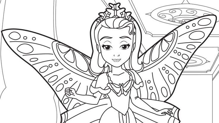 Butterfly Coloring Pages For Girls