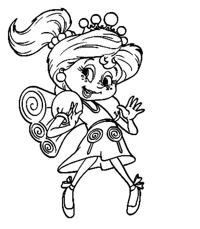Candyland Coloring Pages 5 001 - Coloring Sheets