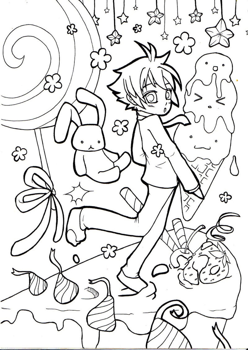 Candyland Coloring Pages Free Printables Fun 001