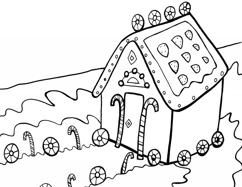 Candyland Coloring Pages Free Printables Practice 001