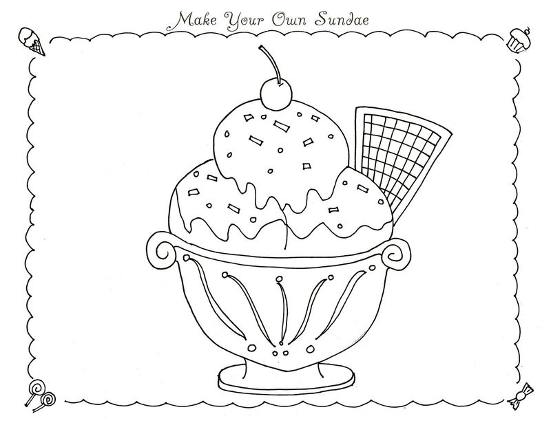 Candyland Coloring Pages Printable
