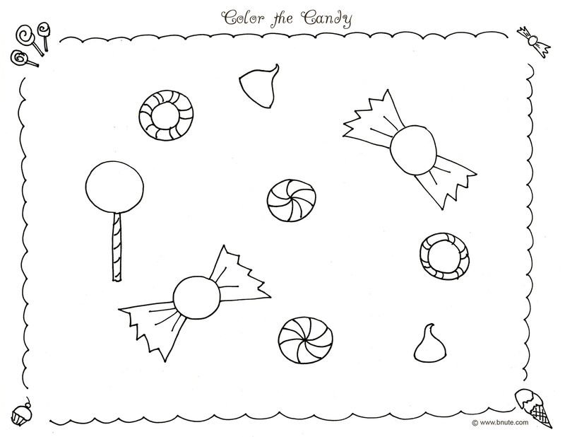 Candyland Coloring Pages To Print 001