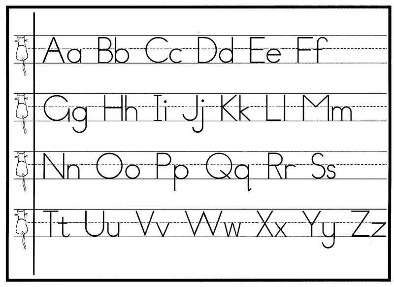 Capital And Lowercase Letters For Kids