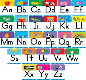 Capital and lowercase letters printable