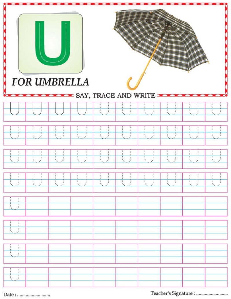 Capital Letter Worksheet Colour