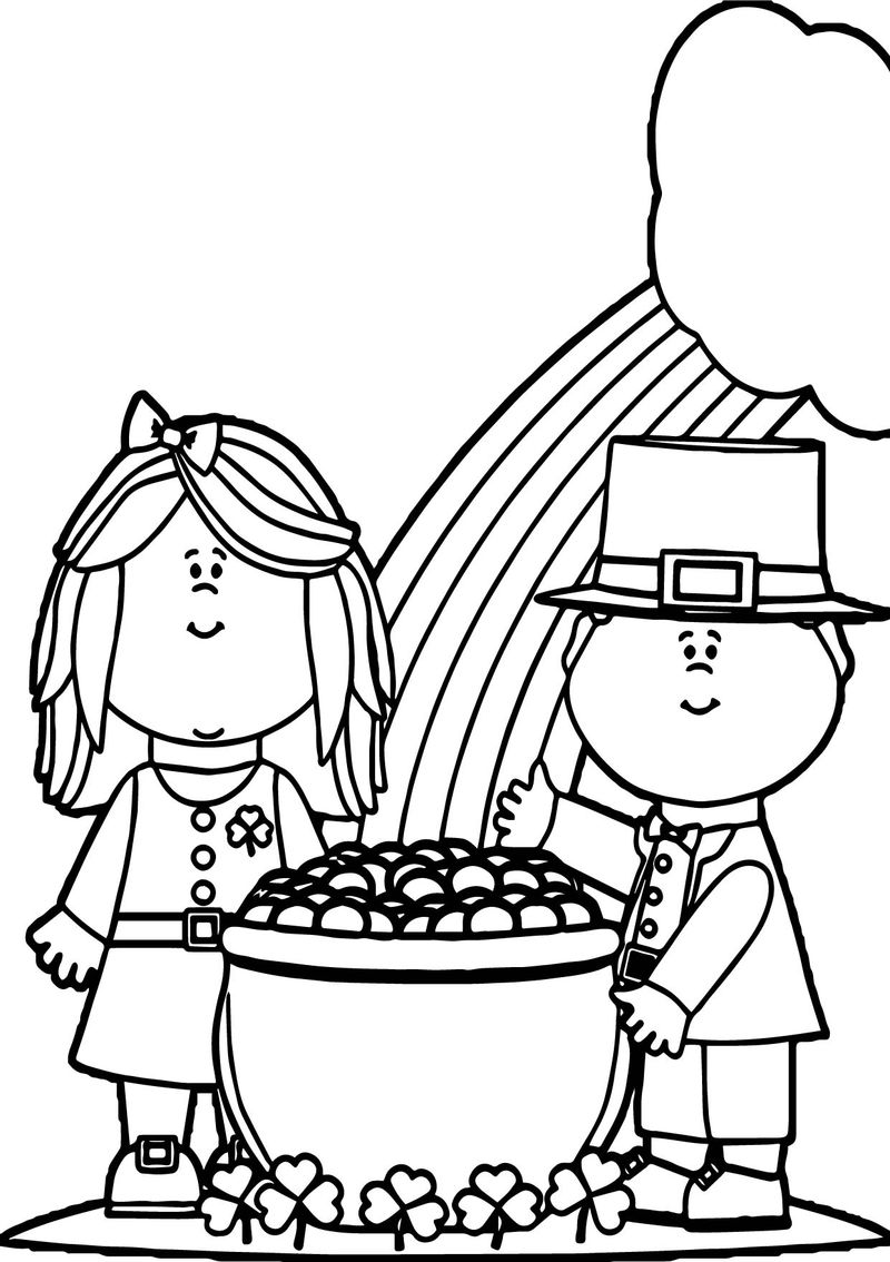 Cartoon All Saint Day Coloring Page