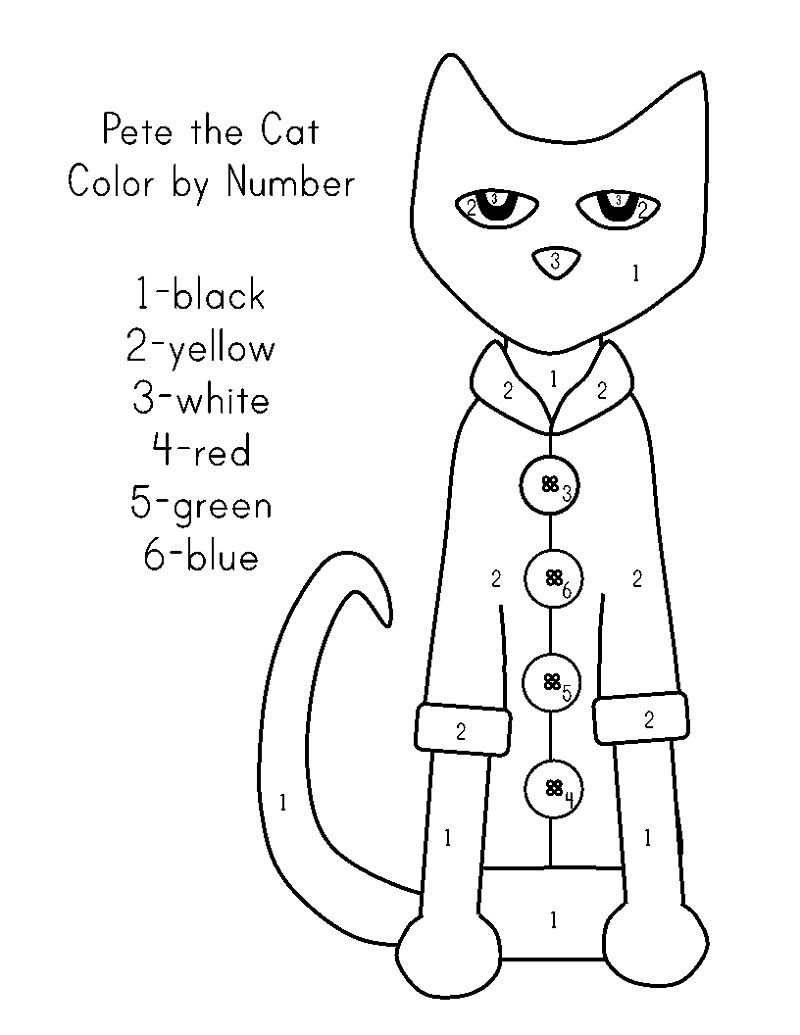 Cat Activities For Kids Printable