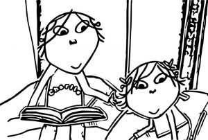 Cbeebies charlie and lola img stories i want to play music too coloring page