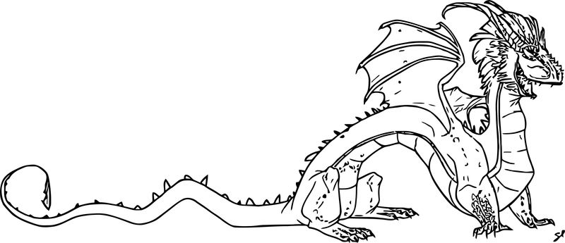 Character Design Dragon Asimplesong Coloring Page