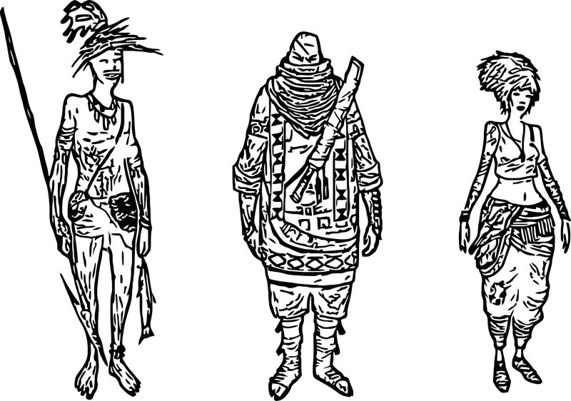 Character Design Vol Coloring Page