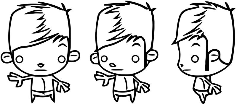 Character Designs Monkey Cartoonized Coloring Page