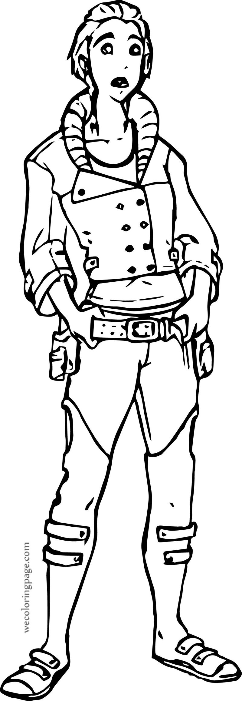 Characters Boy Coloring Page