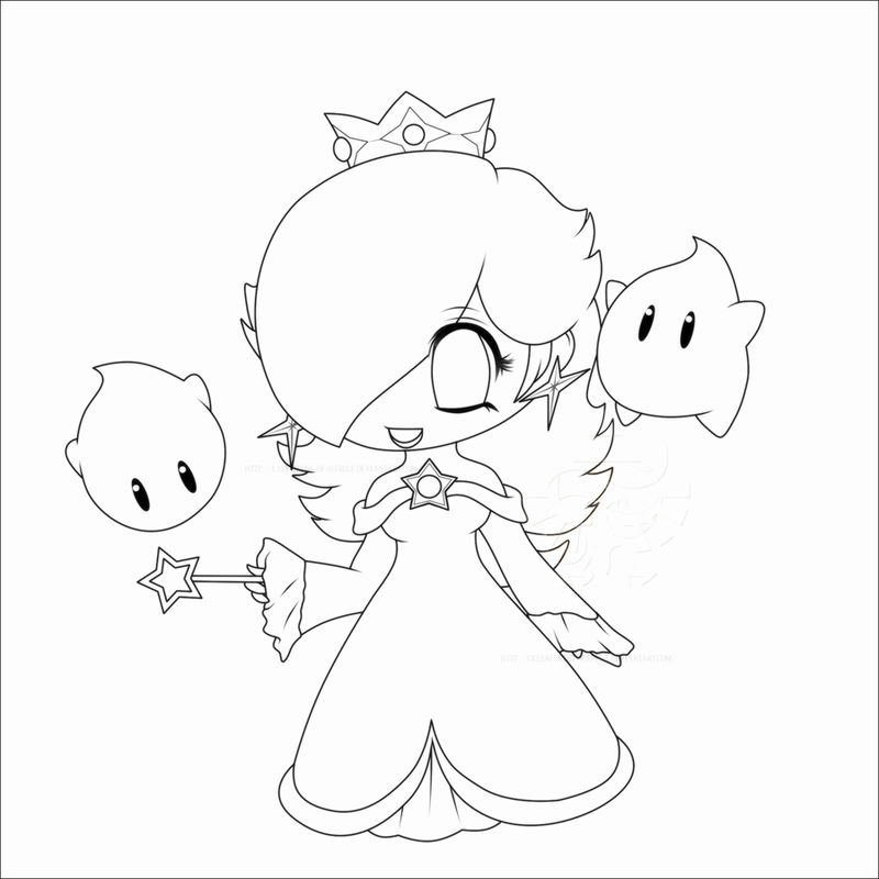 Chibi Coloring Pages Kids
