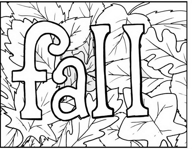 Childrens Activity Sheets To Print Fall