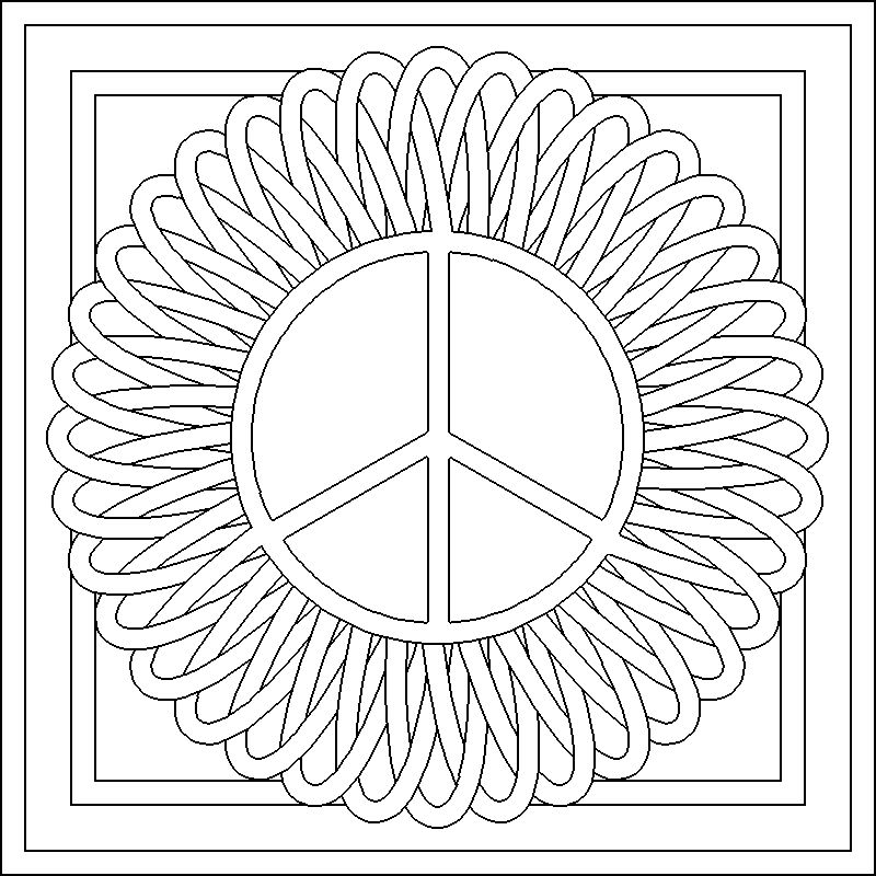 Childrens Colouring Patterns Pages