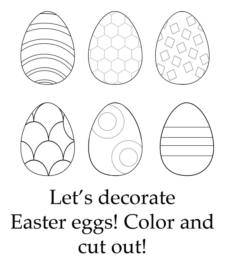 Childrens Fun Activity Sheets Easter