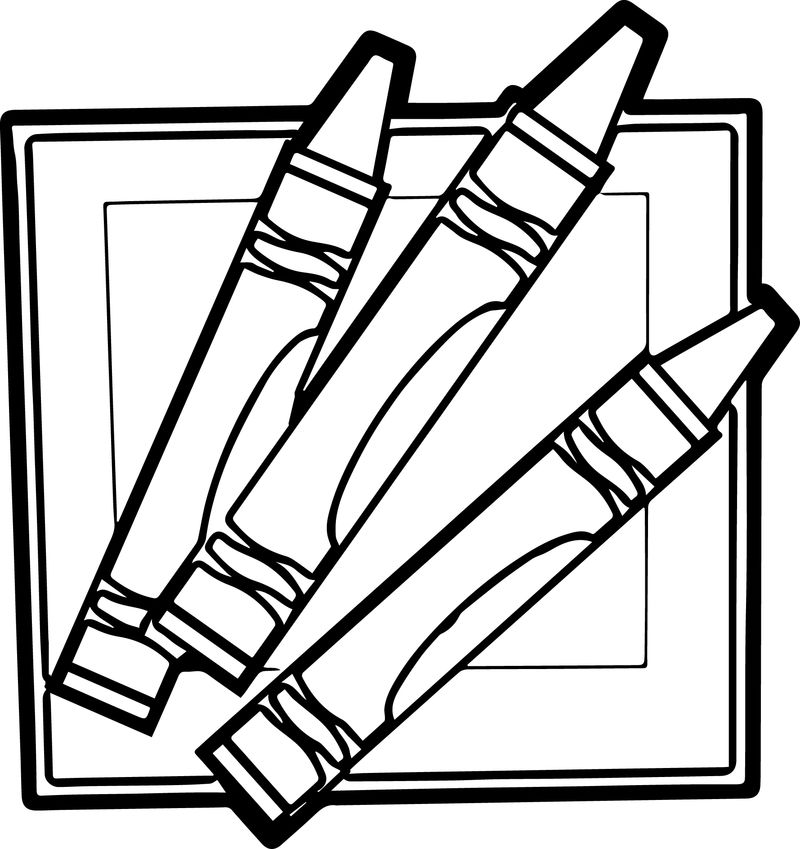Childrens Resources Pen Pencil Coloring Page