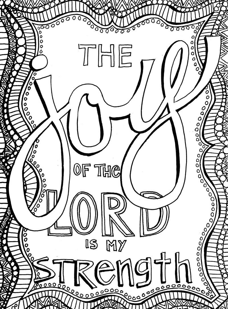 Christian Coloring Pages For Adults 001