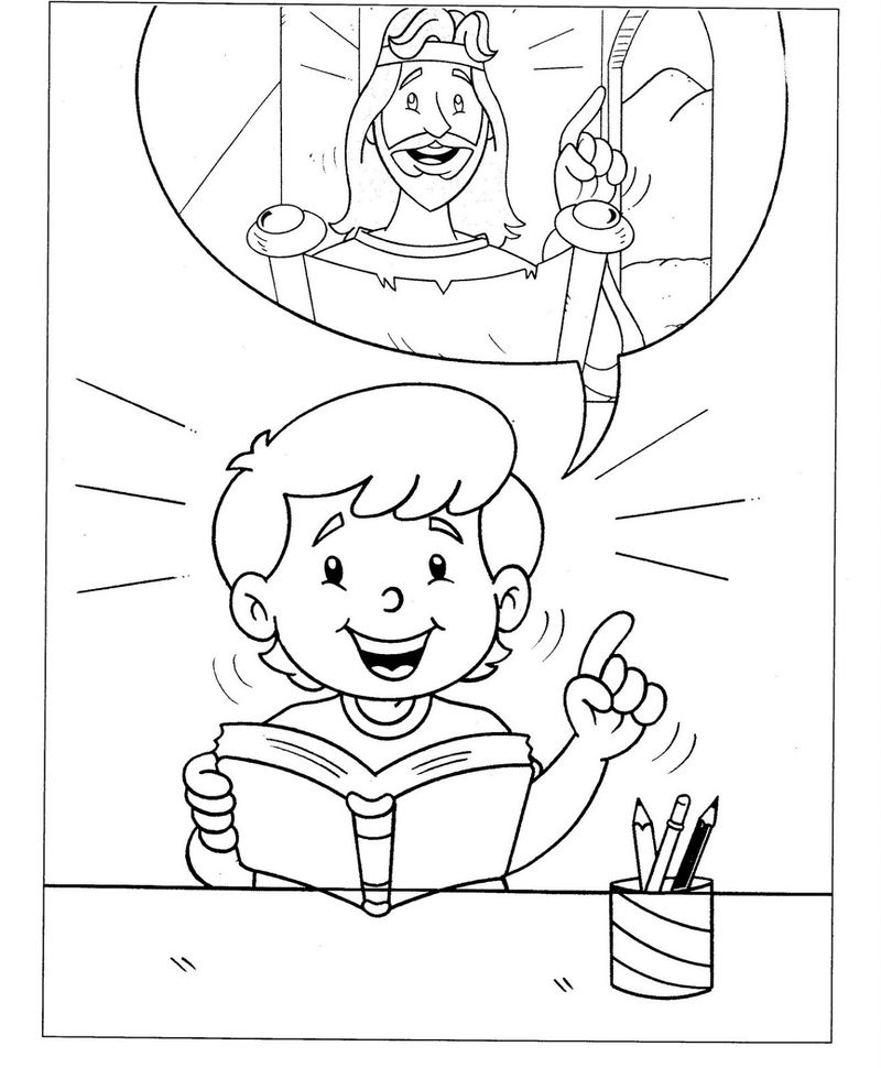 Christian coloring pages for kids 001