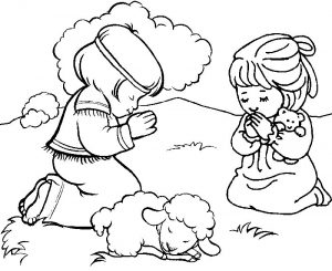 Christian coloring pages for kids 1