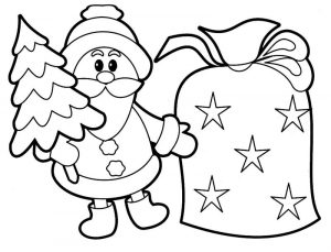 Christmas activities for children coloring pages 001