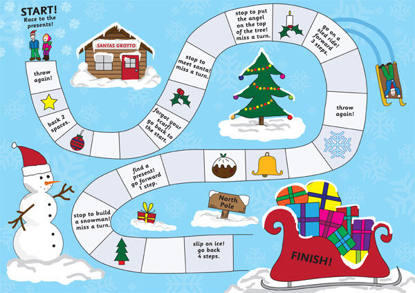 Christmas Activities For Kids Boardgame 001