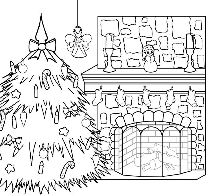 Christmas Activities For Kids Color And Print
