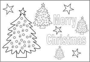 Christmas activities for kids placemat