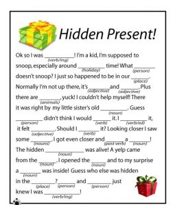 Christmas activities for kids words 001