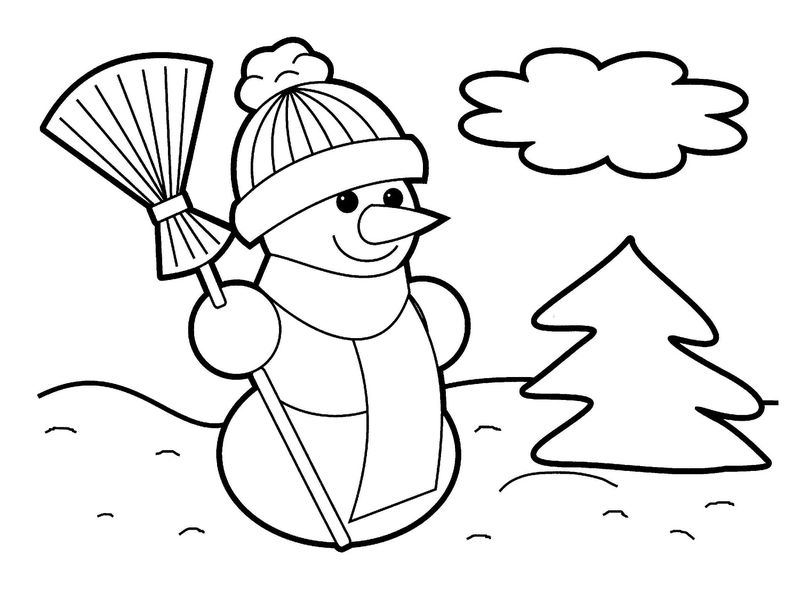 Christmas Crafts For Kids Coloring