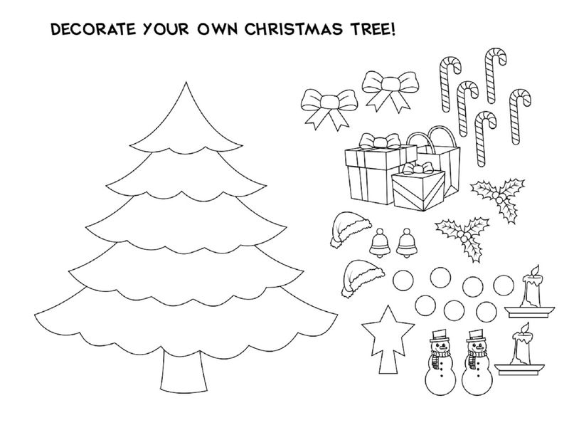 Christmas Crafts For Kids Tree