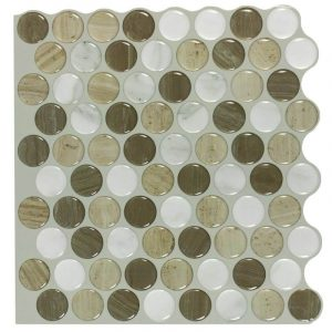 Circle shape pattern tile