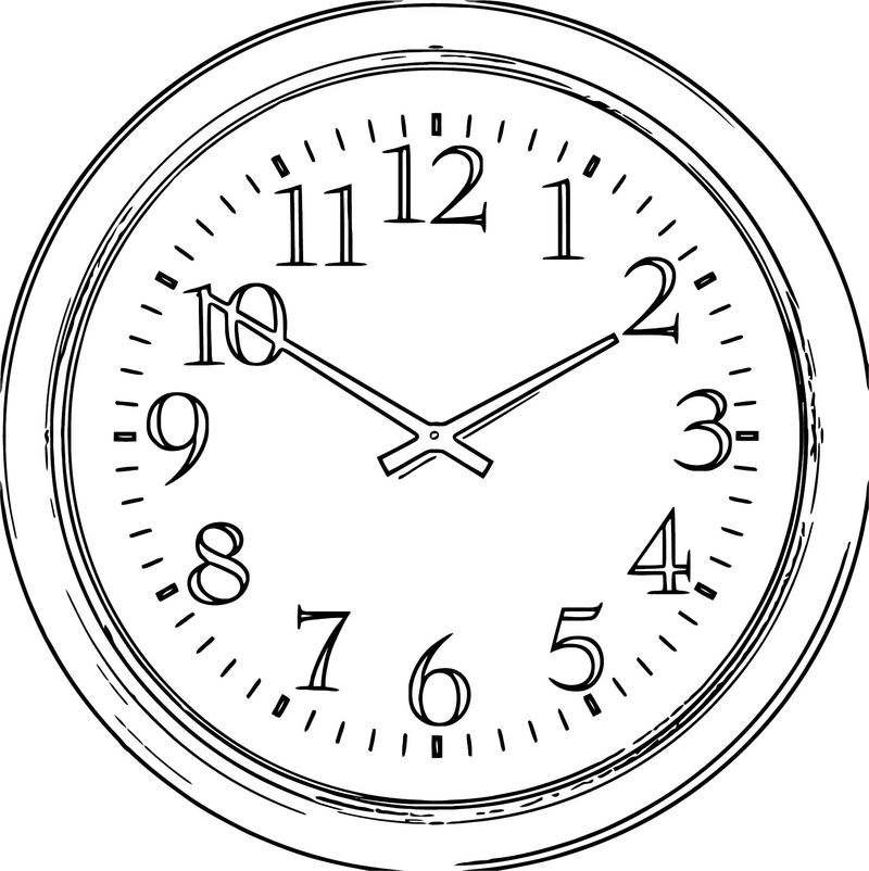 Clock Png66 Free Printable 16 Cartoonized Free Printable Coloring Page