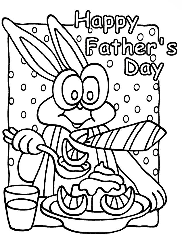 Color Fathers Day Printables 001