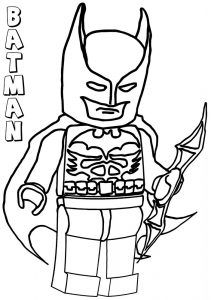 Color lego batman