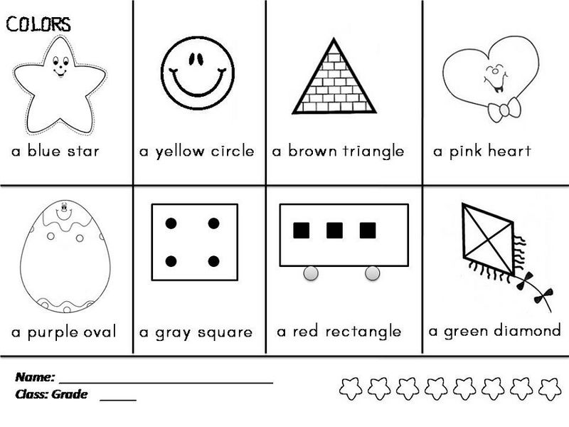 Color The Shapes Worksheet Preschool 001 1