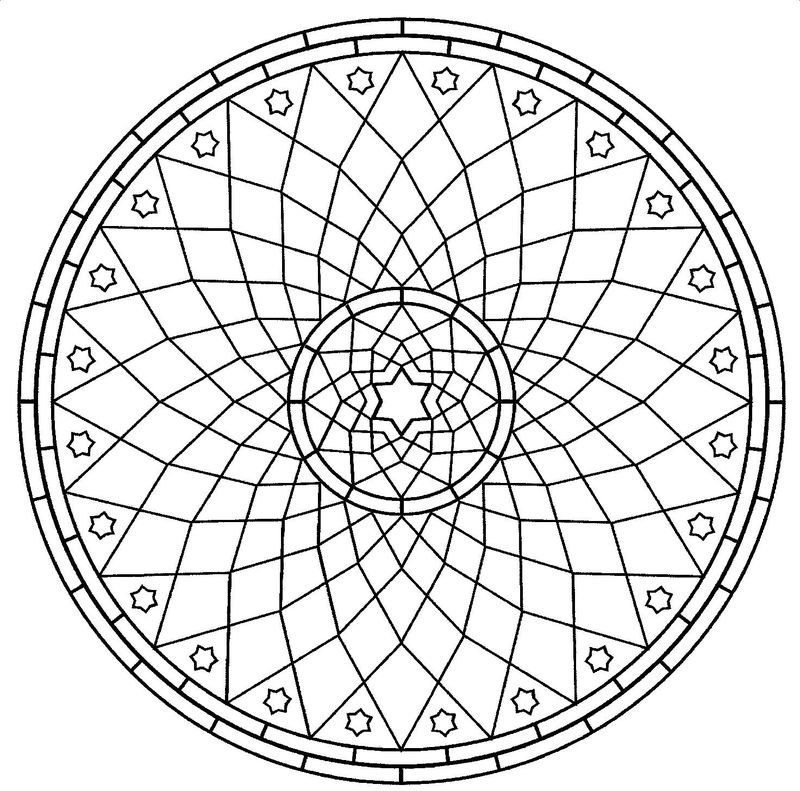 Coloring Pages For Adults Mandala To Print